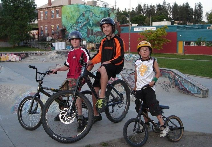 children bikers